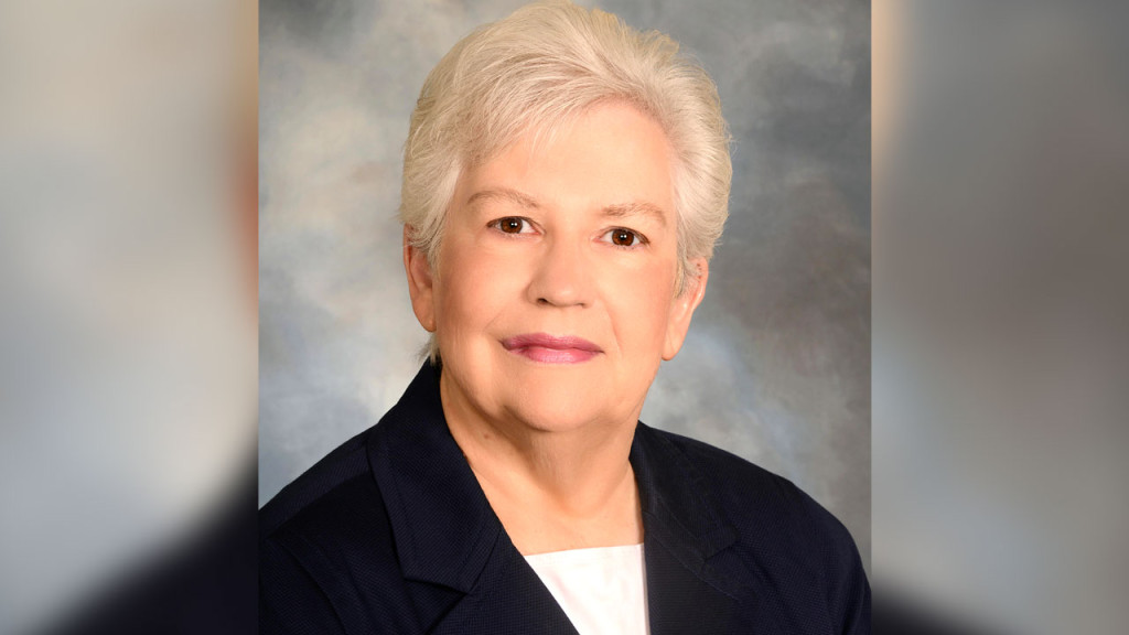Gloria Donnelly, dean and professor of the Drexel University College of Nursing and Health Professions, who will deliver a lecture about self-care at Quinnipiac University's North Haven Campus at 5 p.m. on Wednesday, April 13.