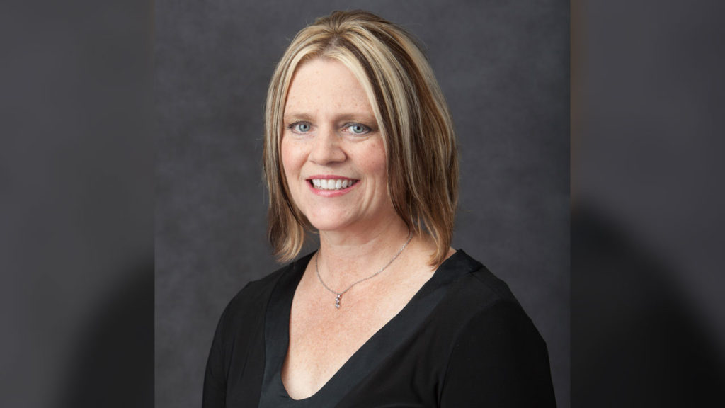 Karen Myrick, of West Hartford, an assistant professor in the School of Nursing at Quinnipiac University.