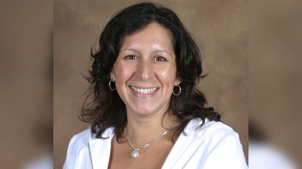 Tracy Van Oss of North Haven, a clinical associate professor of occupational therapy at Quinnipiac University.