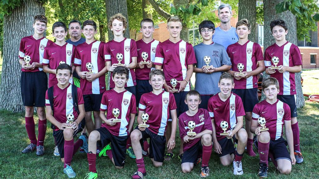 The 2016 NHSC U13 Boys Team. Photo by Chris Powell