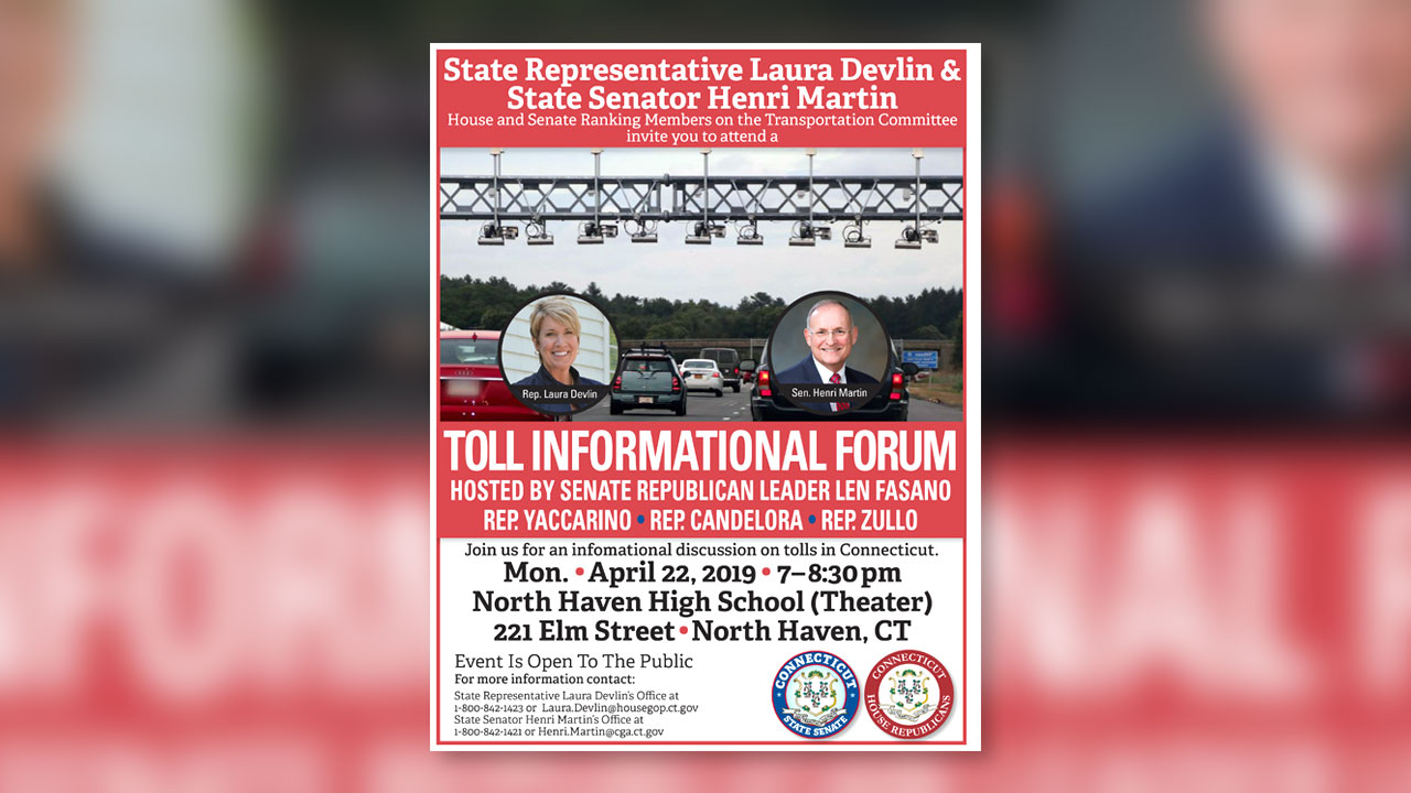 North Haven Informational Tolls Forum